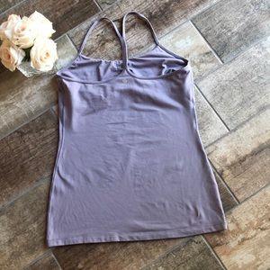 lululemon athletica Tops - Lululemon Power Y Workout Tank Top Sz 10 Purple